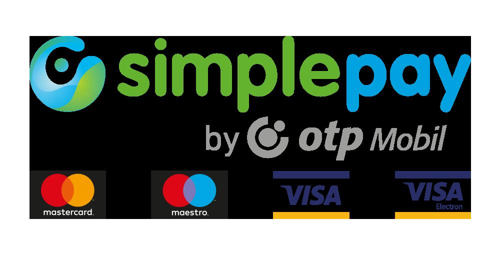 Online bankkártyás fizetés - SimplePay